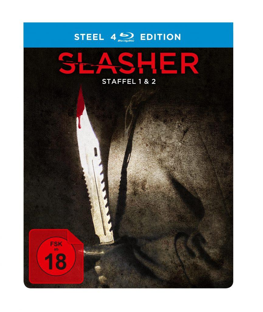 Slasher Steelbook Cover
