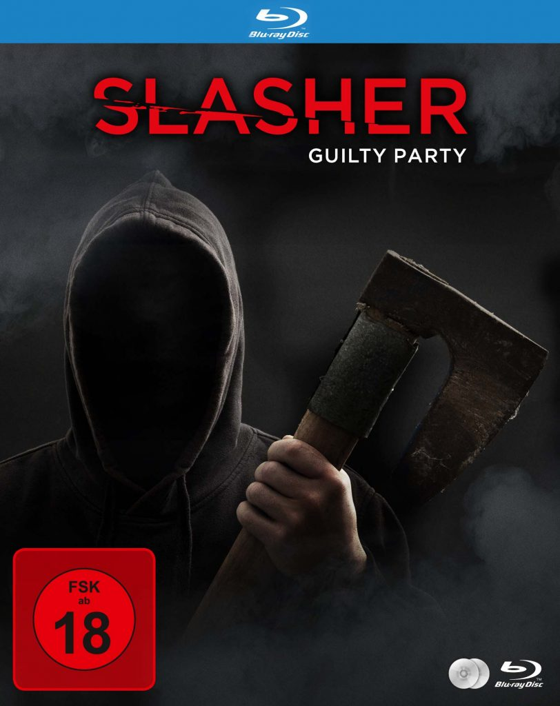 Blu-ray Cover Slasher: Guilty Party