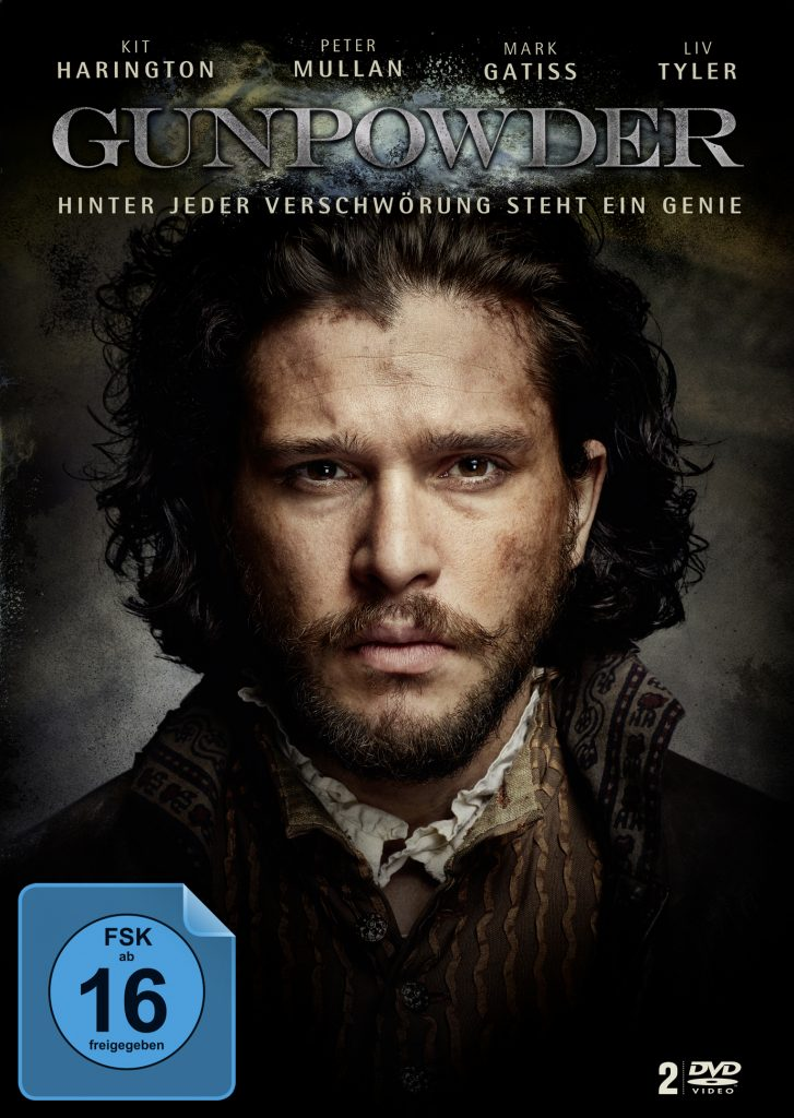 Das DVD Cover von Gunpowder. © Justbridge Entertainment
