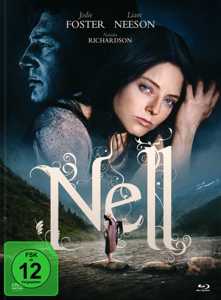 Das Cover des Bluray-Mediabooks von Nell. © Justbridge Entertainment