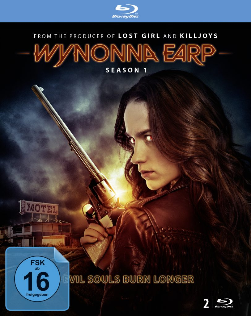 Cover BD Wynonna Earp Season 1 © justbridge Entertainment