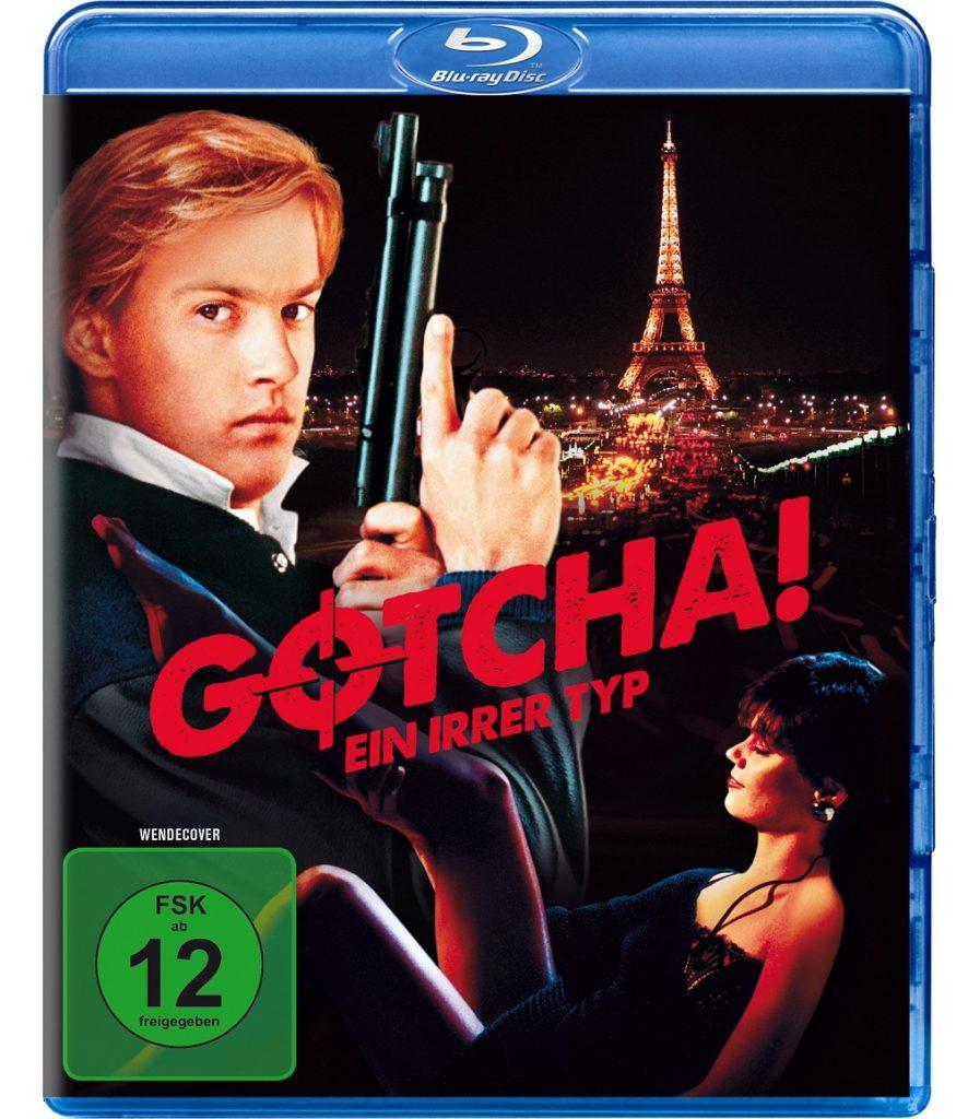 Anthony Edwards und Linda Fiorentino auf dem Cover von Gotcha! - Ein irrer Typ