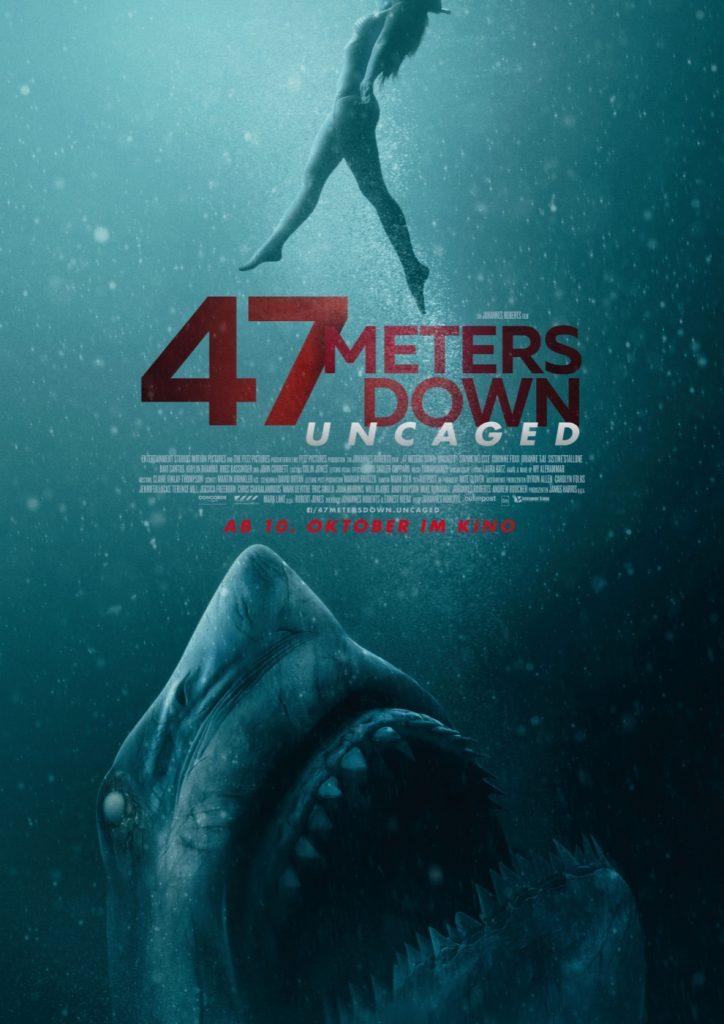 Filmposter zu 47 Metes Down: Uncaged