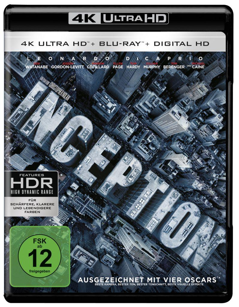 4K-Bluray-Cover zu Inception