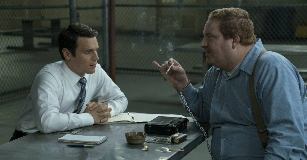 """Im Gespräch mit dem Serienmörder Jerry Brudos in """"Mindhunter"""" © Netflix"""
