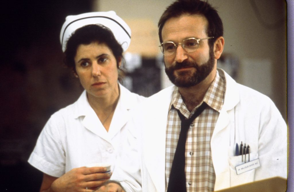 Robin Williams und Julie Kavner in Zeit des Erwachens von ©Sony Pictures Home Entertainment 1990