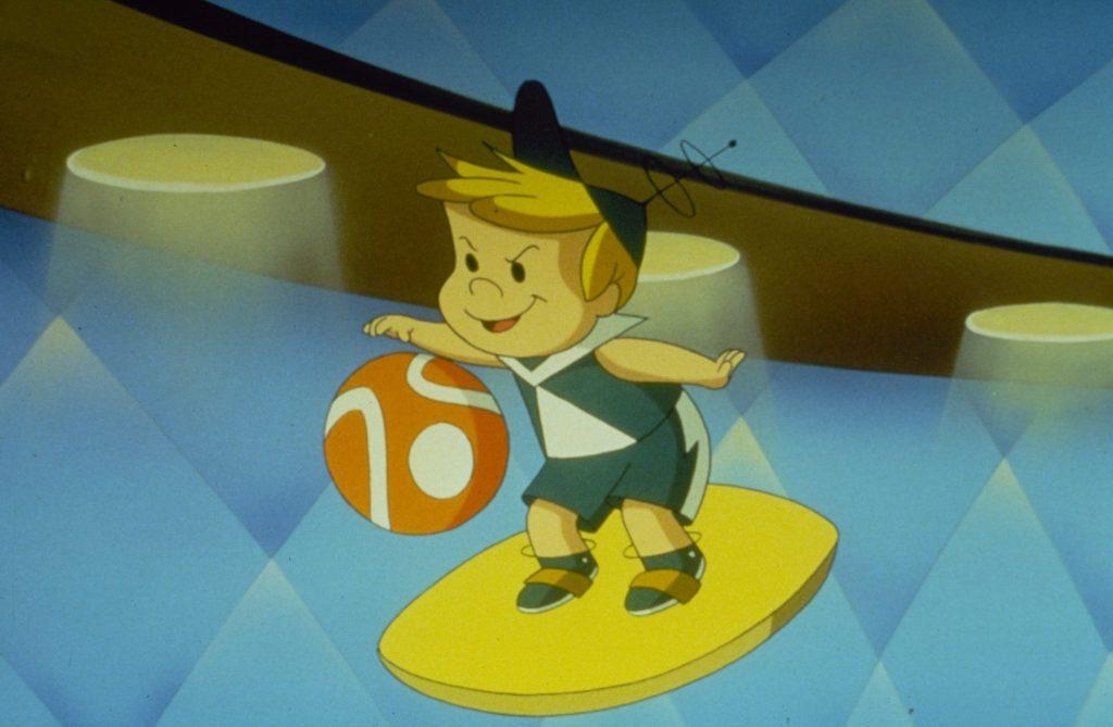 Elroy Jetson spielt Basektball, Jetsons - Der Film, Justbridge Entertainment