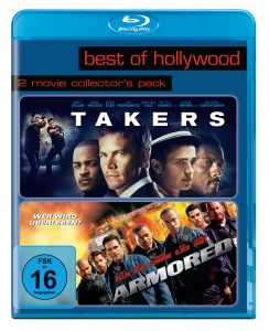 Bluray-Cover from TAKERS by ©Sony Pictures Home Entertainment