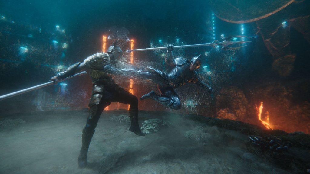 Genau wie Aquaman und Orm kämpfen auch deren Themen miteinander! Copyright Warner Bros.