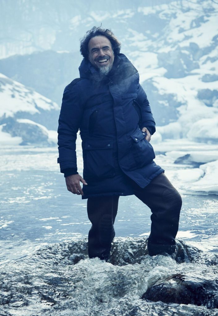 Iñárritu am Drehort von The Revenant © Twentieth Century Fox Home Entertainment