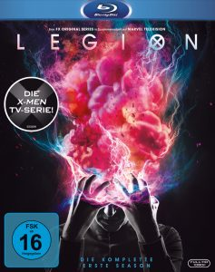 Bluray-Cover zu Legion aus 2017 von ©20th Century Fox Home Entertainment