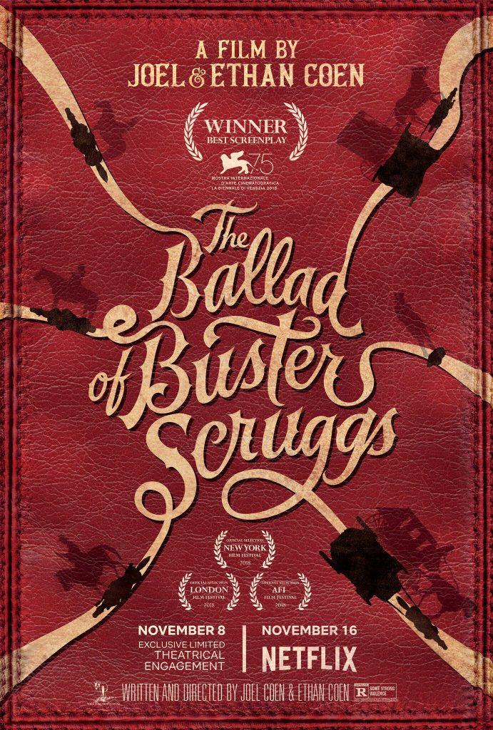 Offizielles Poster zu The Ballad Of Buster Scruggs © Netflix