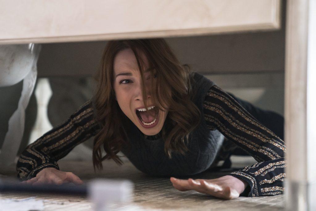 """Rhian Rees als """"Dana"""" in Halloween (2018) © Universal Pictures"""