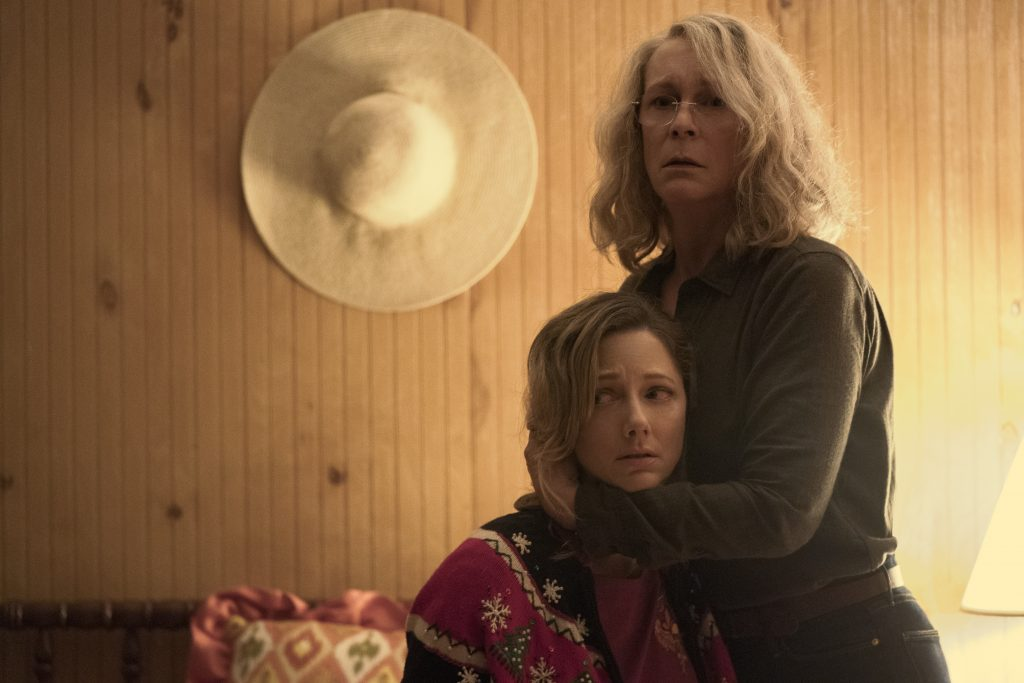 "Jamie Lee Curtis als ""Laurie Strode"" in Halloween (2018) © Universal Pictures"