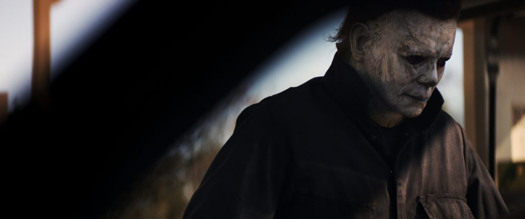 Halloween (2018) - Michael Myers auf der Lauer. © Universal Pictures