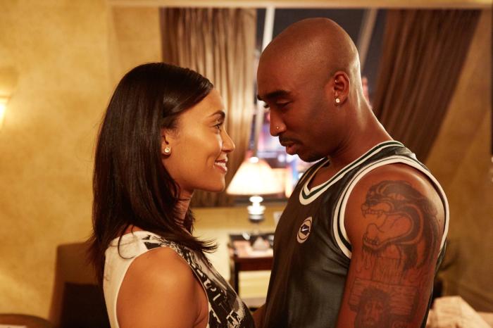 Tupac in Love in All Eyez on Me