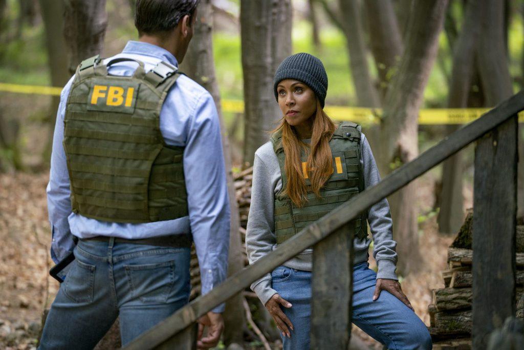 Jada Pinkett Smith als FBI-Agentin mit einem Kollegen in Angel Has Fallen
