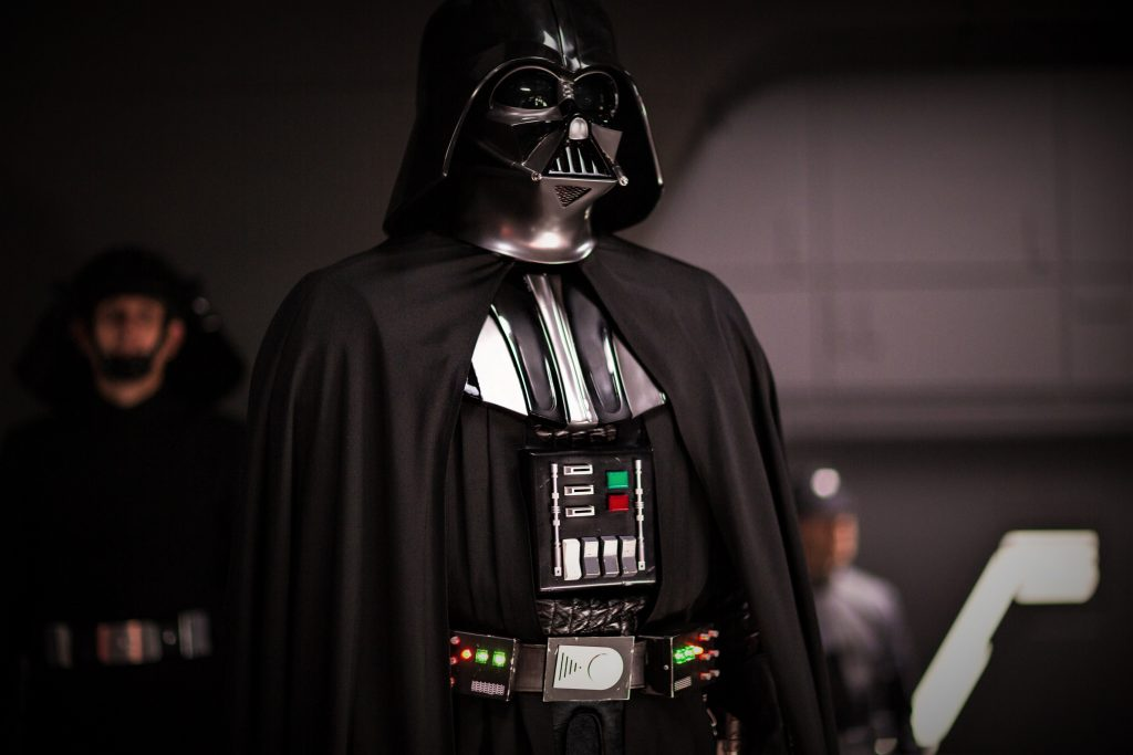 Darth Vader in Rogue One: A Star Wars Story. ©2015 Lucasfilm Ltd. & ™, All Rights Reserved.