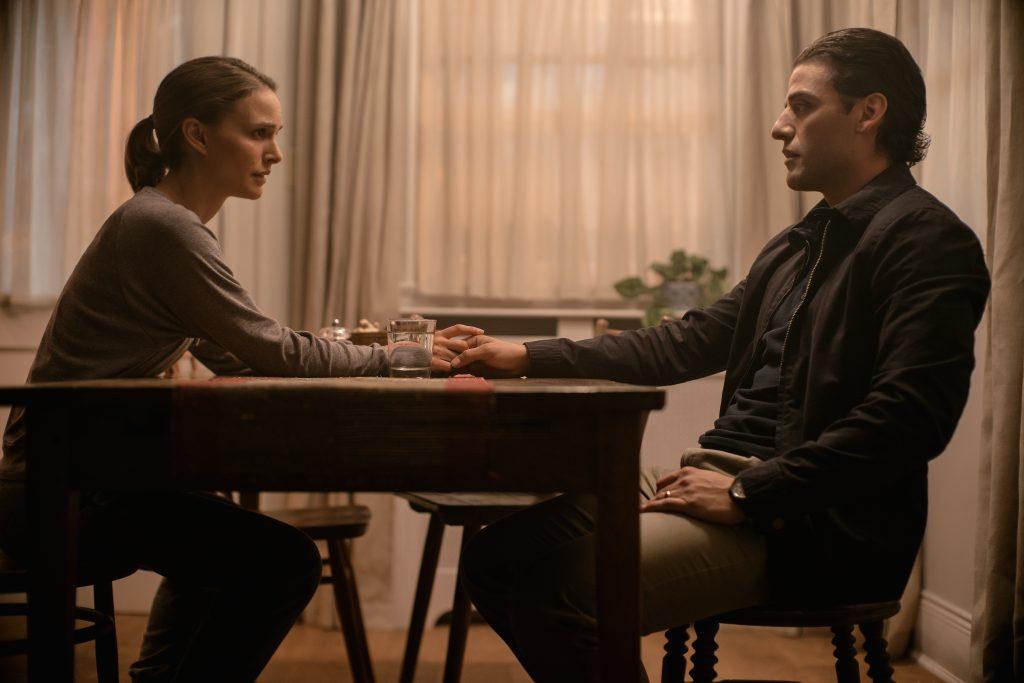 """Kane (Oscar Isaac) kehrt verändert zu seiner Frau Lena (Natalie Portman) zurück in """"Auslöschung"""" © Netflix"""