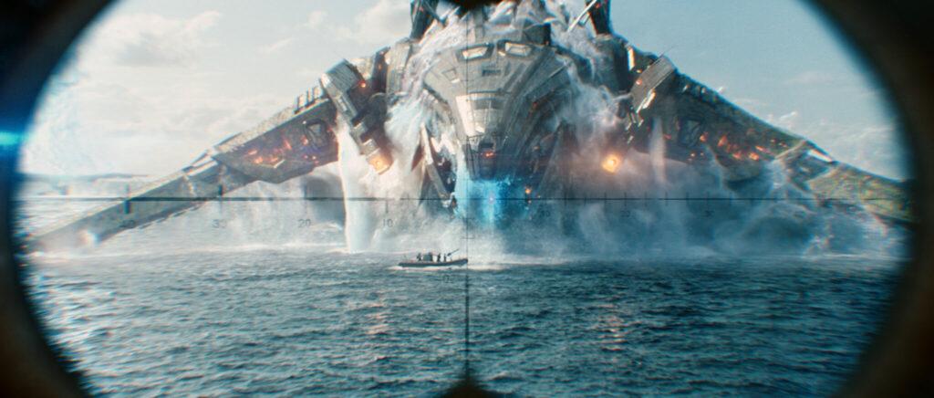 Durchs Periskop wird das feindliche Raumschiff ins Visier genommen - Neu bei Prime im Februar 2021