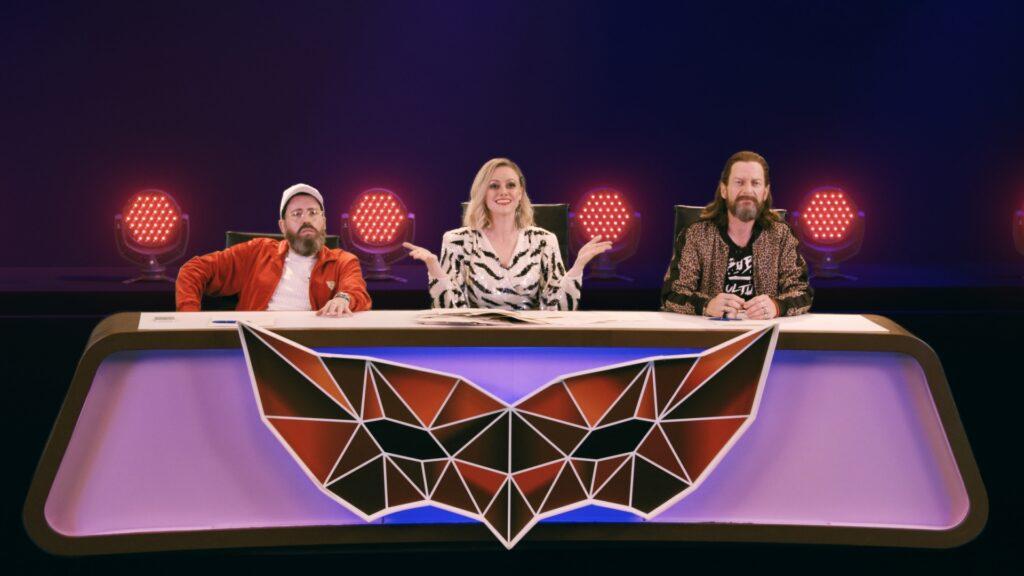 Drei Comedians geben die Jury für einen Sketch über eine Casting Show - Neu bei Prime im Dezember 2020