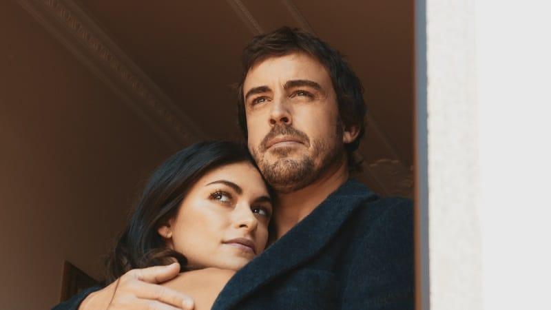 Fernando Alonso Arm in Arm mit seiner Frau - Neu bei Prime im September 2020