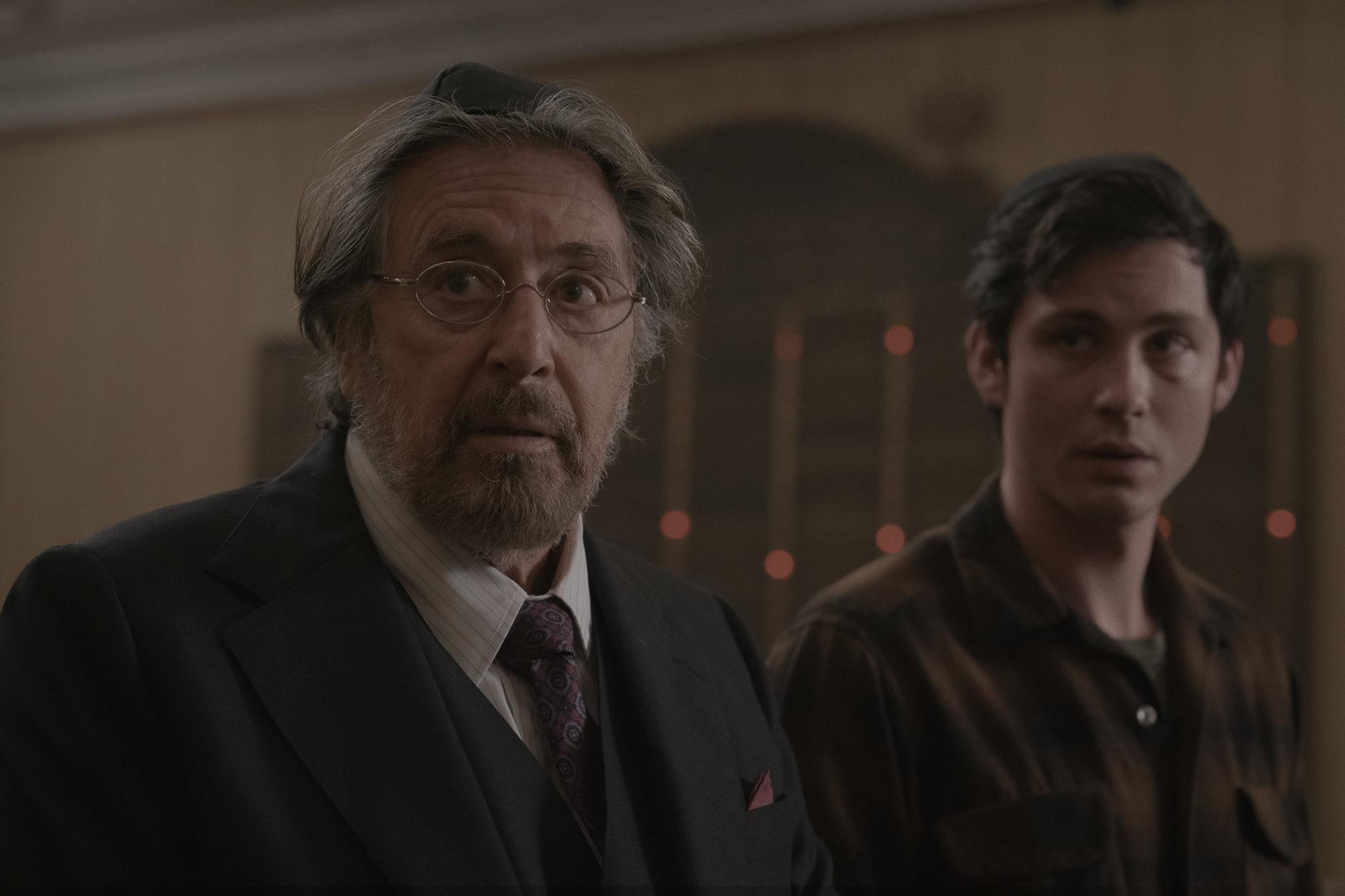 Al Pacino und Logan Lerman in Hunters