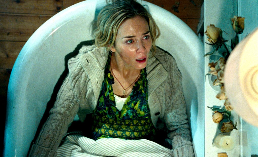 Emily Blunt in A QUIET PLACE,