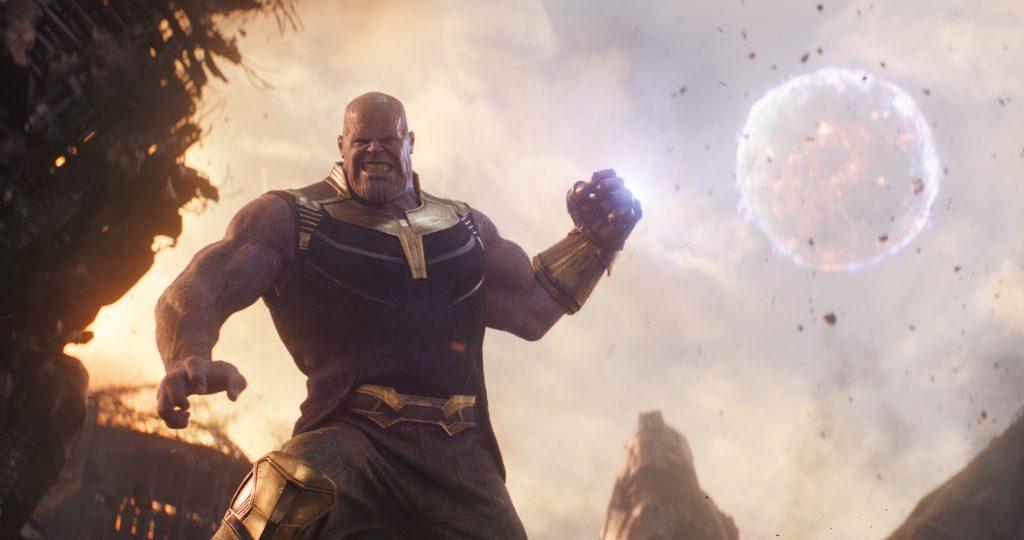 Gott, ist der fies' AVENGERS: INFINITY WAR..Thanos (Josh Brolin)..Photo: Film