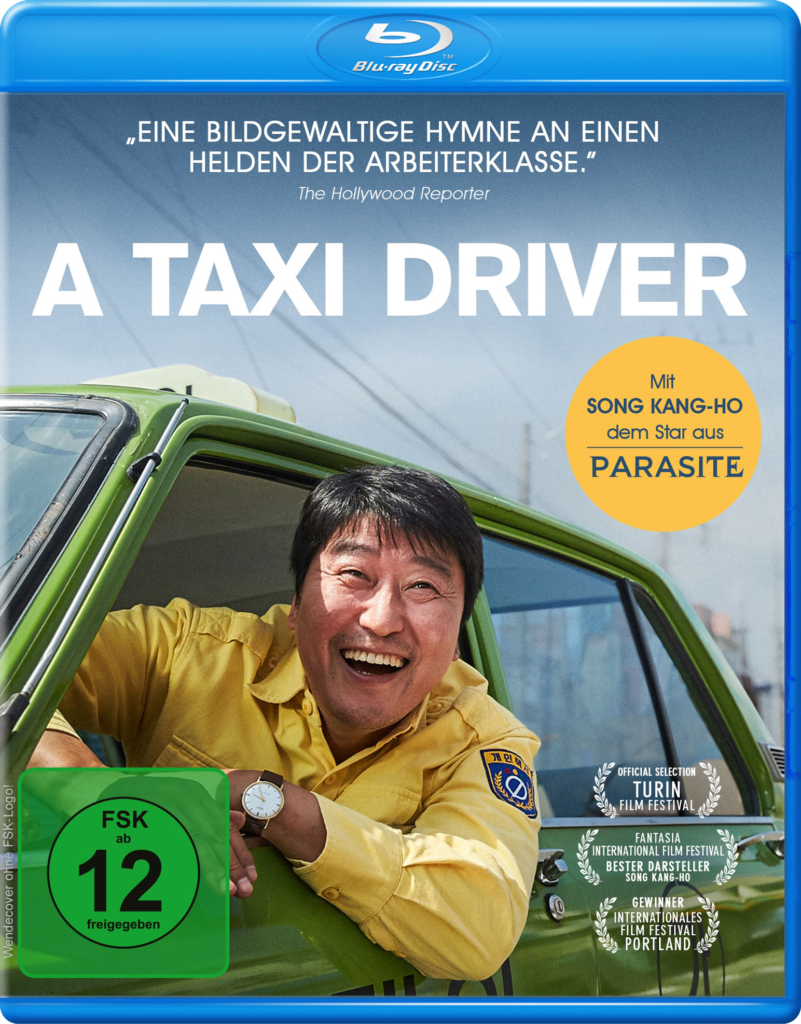 Front-Covermotiv der Blu-ray zu A Taxi Driver