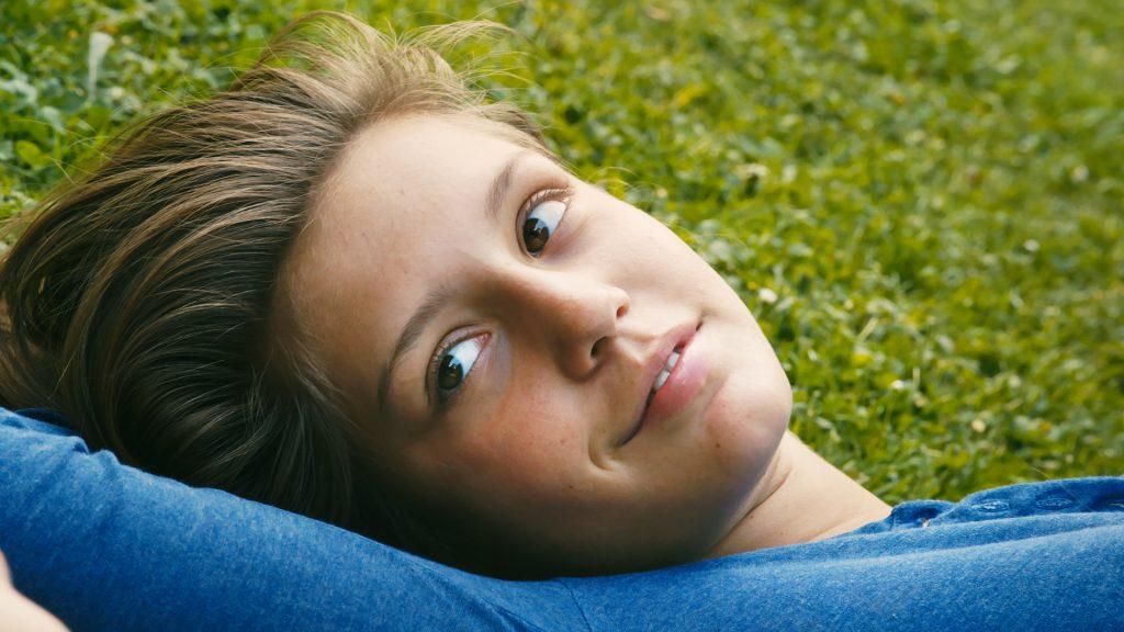 Adèle blüht auf in Blau ist eine warme Farbe ©Alamode Film