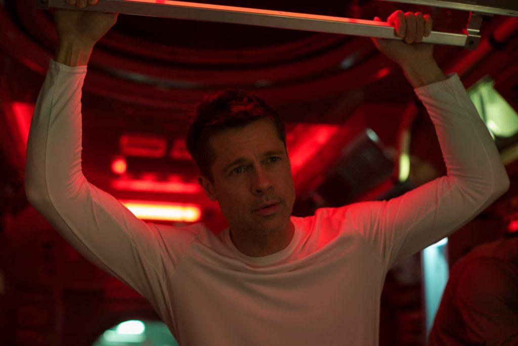 Roy McBride (Brad Pitt) als Astronaut ohne Emotionen in Ad Astra - Zu den Sternen