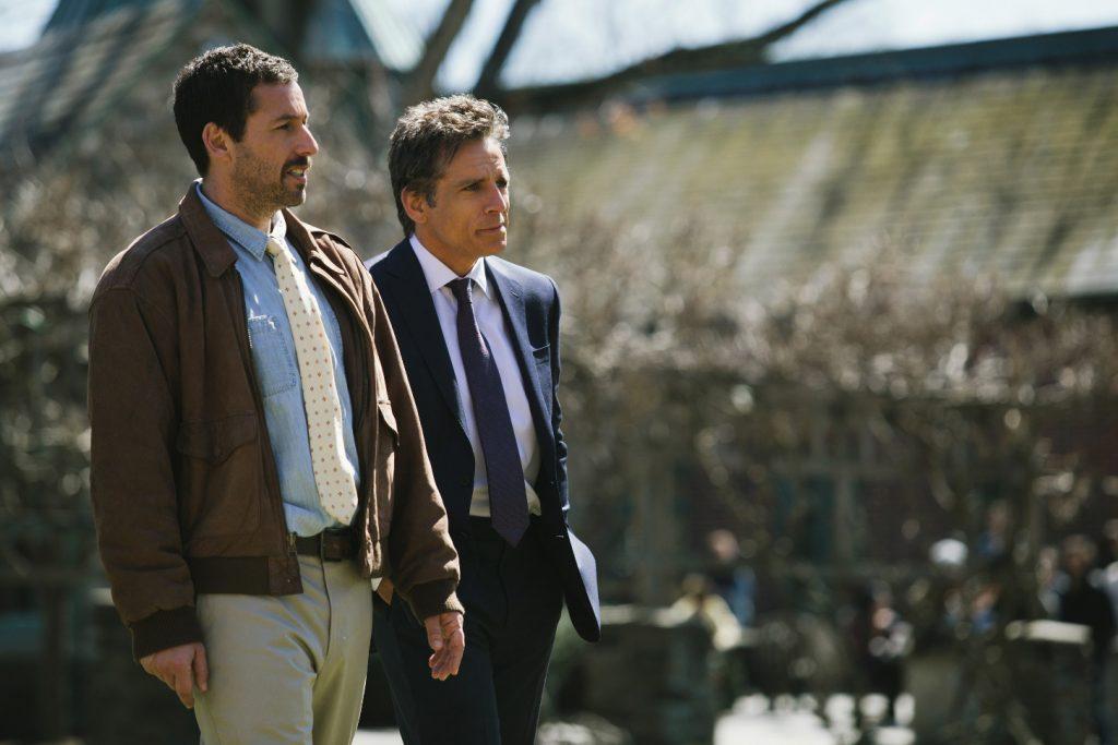 Adam Sandler und Ben Stiller in The Meyerowitz Stories