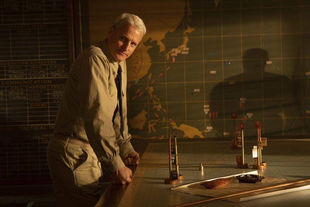 Admiral Chester W. Nimitz (Woody Harrelson) hat viel zu planen in Midway - Für die Freiheit © 2019 Universum Film