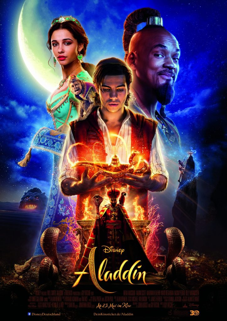 Filmplakat Aladdin © The Walt Disney Company Germany