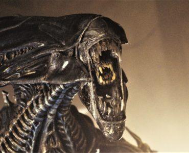 Die Xenomorph-Königin in voller Pracht in Aliens - Die Rückkehr