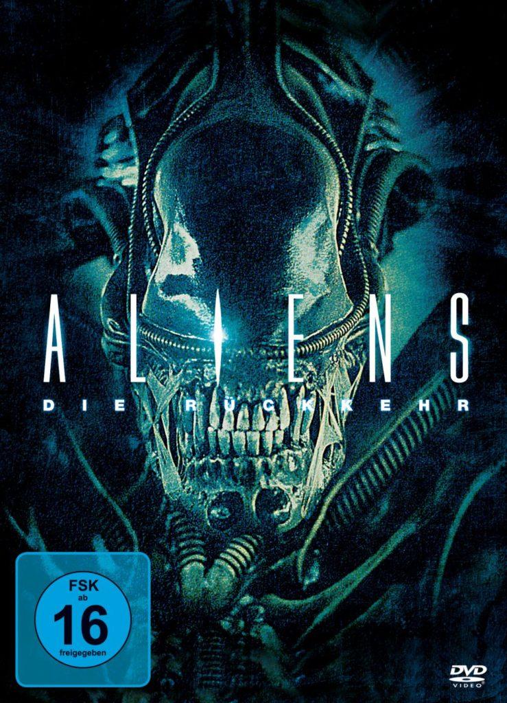 Das offizielle DVD Cover von Aliens - Die Rückkehr.