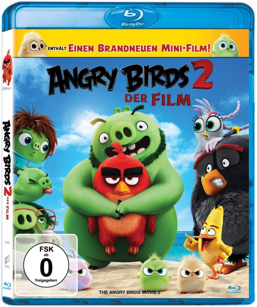 Das Blu-Ray-Cover zu Angry Birds 2 - Der Film