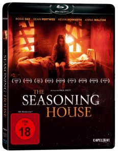 """Cover der Blu Ray von """"The Seasoning House"""" © Capelight Pictures"""