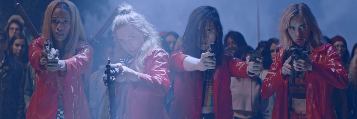 Das grande finale präsentiert sich waffenstarrend. | ASSASSINATION NATION © Universum Film Home Entertainment