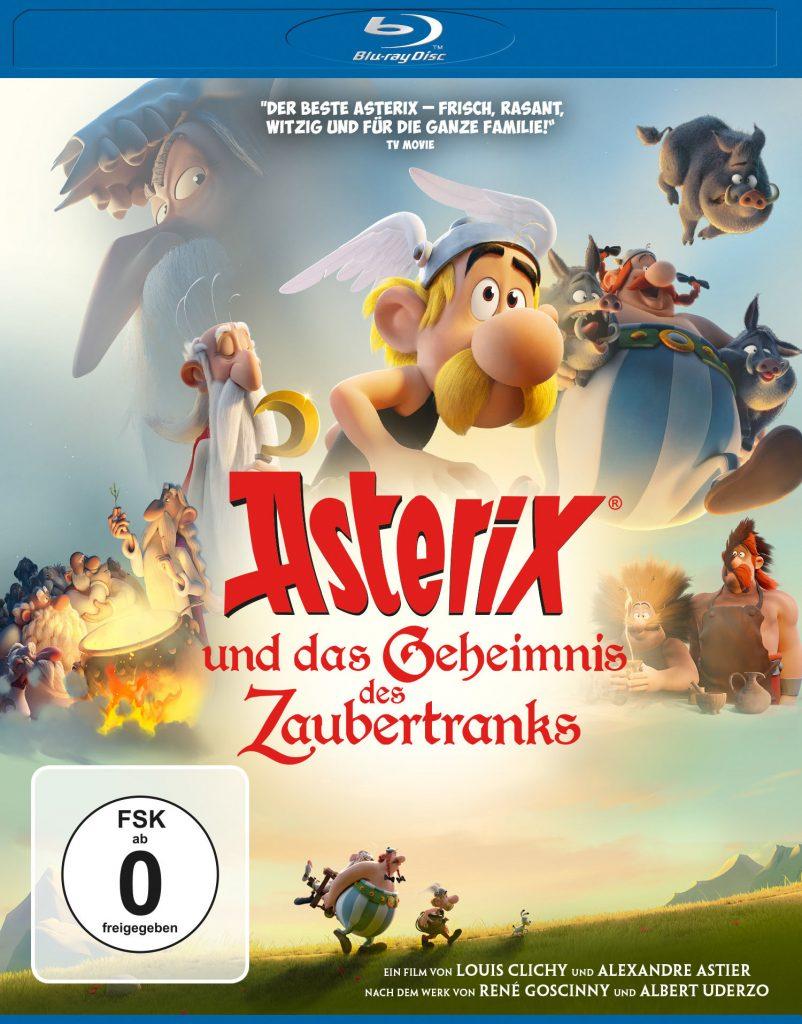 """Das Blu-Ray-Cover zu """"Asterix und das Geheimnis des Zaubertranks"""" © Universum Film"""