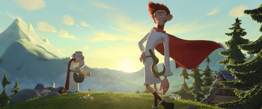 Emporkömmlix (rechts) hat die besten Aussichten, das Geheimnis des Zaubertranks zu erfahren © Universum Film