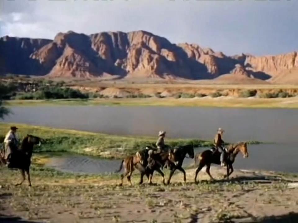 Auf dem Weg durch das Indianergebiet ©Koch Films