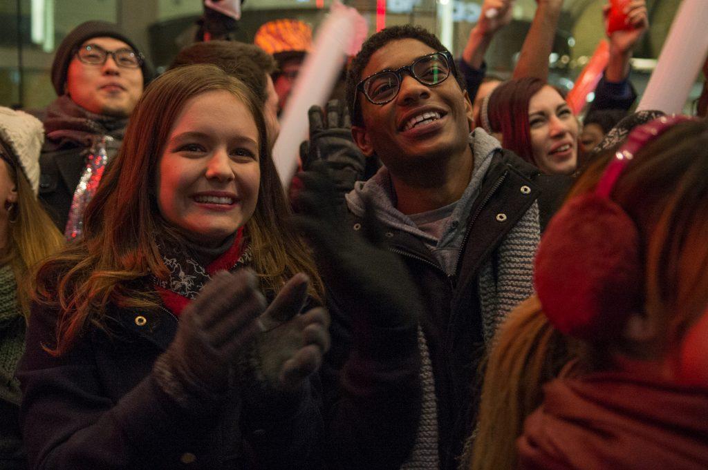 Via Pullman und ihr Freund Justin feiern gemeinsam ins neue Jahr