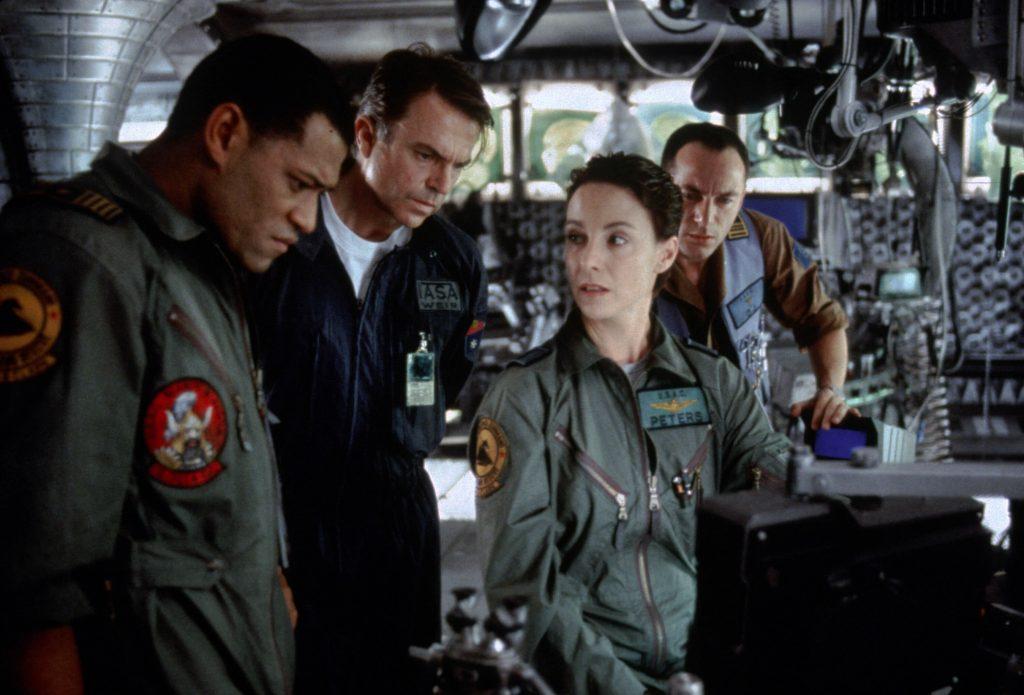 """Die Crew der """"Lewis & Clark, in """"Event Horizon"""""""