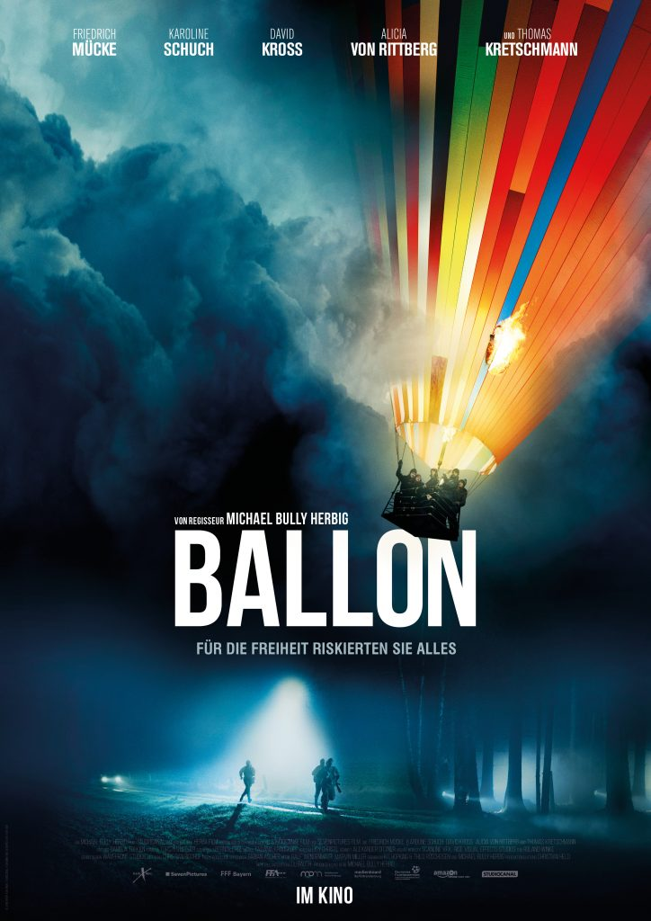 """Interview mit Michael Bully Herbig. Filmplakat zu """"Ballon"""" © StudioCanal"""