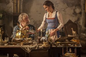 In Disney's BEAUTY AND THE BEAST, a live-action adaptation of the studio's animated classic, Emma Watson stars as Belle and Kevin Kline is Maurice, Belle's father. © The Walt Disney Company Germany GmbH