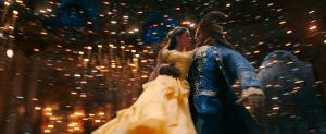 Belle (Emma Watson) comes to realize that underneath the hideous exterior of the Beast (Dan Stevens) there is the kind heart of a Prince in Disney's BEAUTY AND THE BEAST, a live-action adaptation of the studio's animated classic directed by Bill Condon. © The Walt Disney Company Germany GmbH