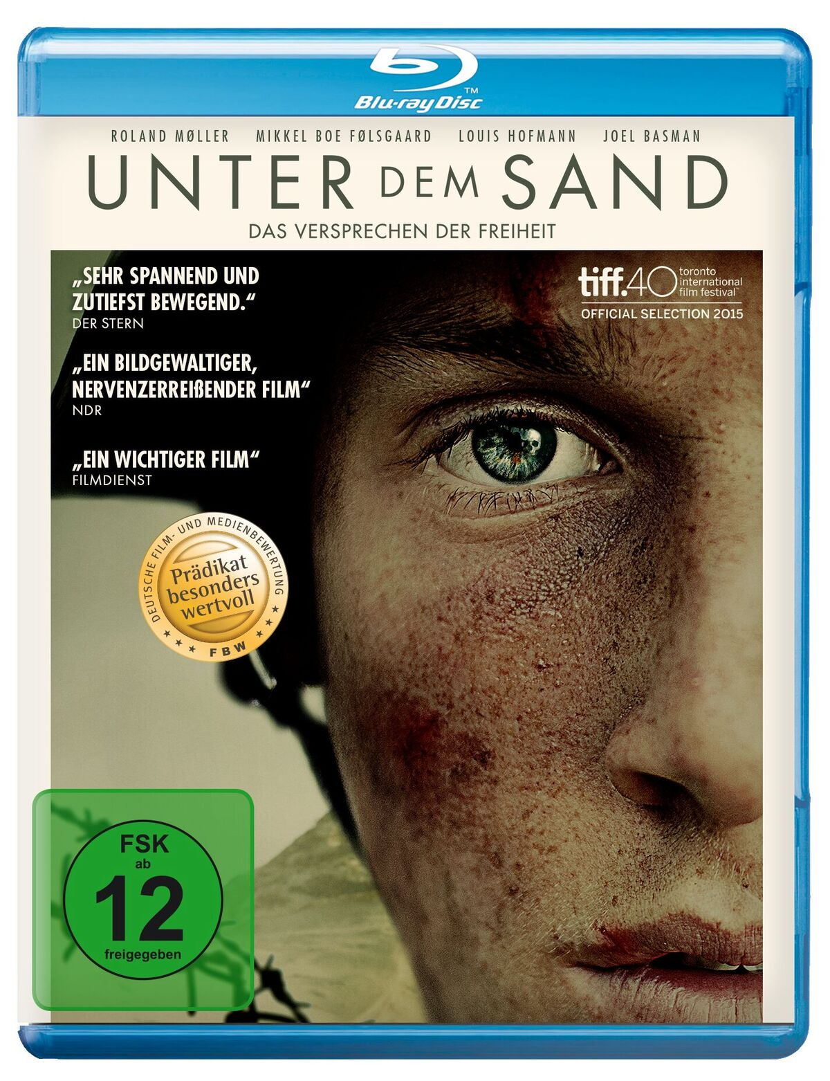 BD-Cover Unter dem Sand - Das Versprechen der Freiheit © Koch Films