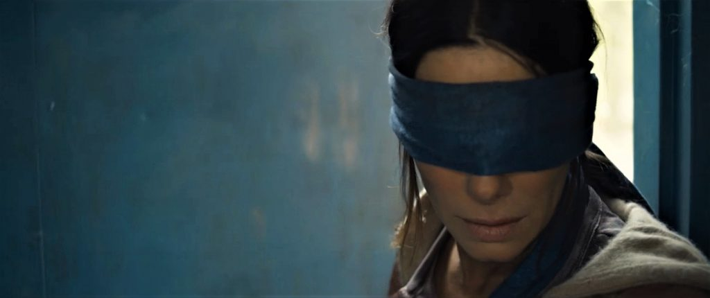 Sandra Bullock in Bird Box. © Netflix